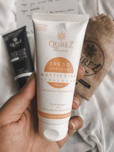 Skincare image of Qurez Sunscreen